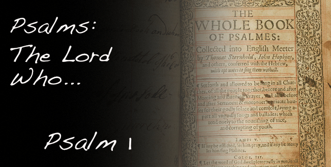 Psalms 1 Title